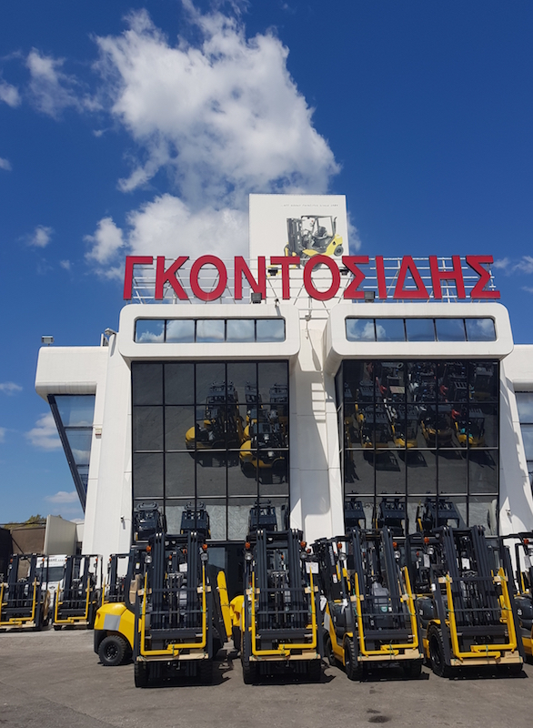 Godosidis Komatsu Forklifts import in Greece 2019, Made in Japan
